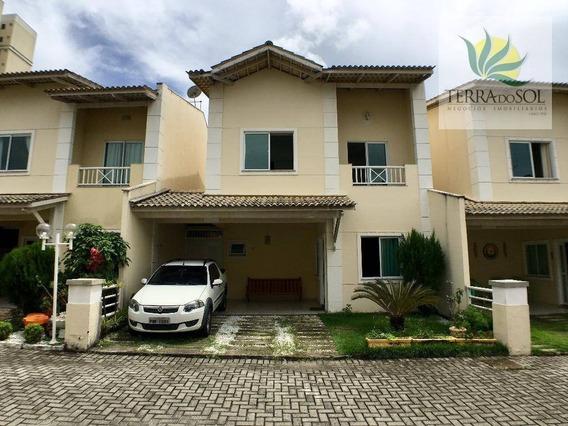 Casa Duplex Com 3 Suítes E Lazer Privativo Em Condomínio Fechado. - Ca0849