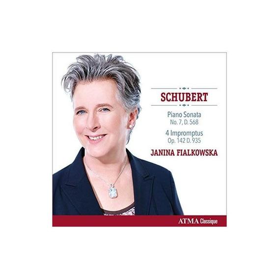 Schubert/fialkowska Schubert Piano Sonata No. 7 Op. 122-four