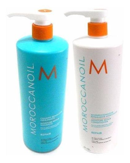Moroccanoil Kit Repair Shampoo X1000 + Acondicionador X1000