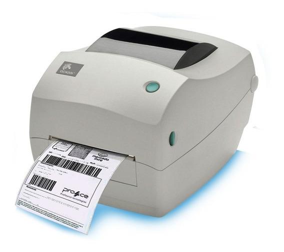 Impressora De Etiquetas Zebra Gc420 T Oferta Limitada