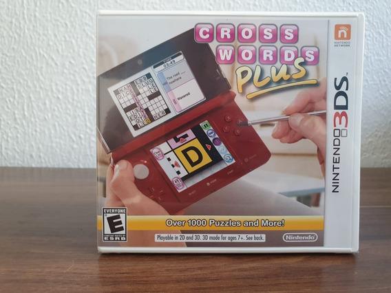 Crosswords Plus (lacrado) 3ds