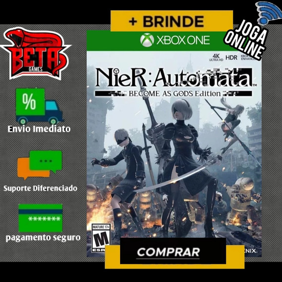Nier: Automata - Xbox One - Midia Digital + Brinde