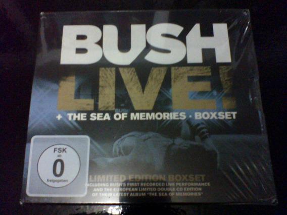 Bush - Live! + The Sea Of Memories [box] Gavin Rossdale