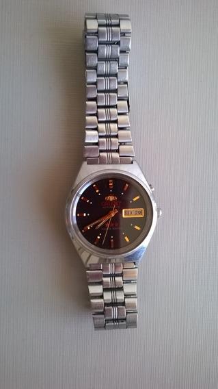 Lindo Relógio Orient Automático Modelo 21 Rubis 100%