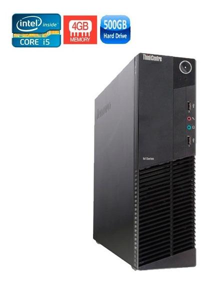 Pc Lenovo M92p Intel I5 3ºgeração 4gb Hd 500gb Novo Vitrine