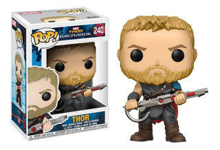 Funko Pop Thor Ragnarok 240 De Marvel Figura De Vinil Nuevo
