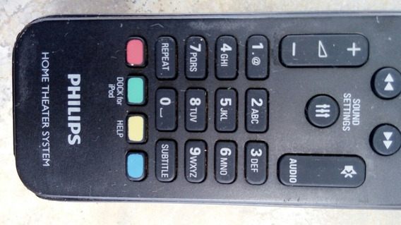 Controle Remoto Philips Hts-5593/78 Original Usado