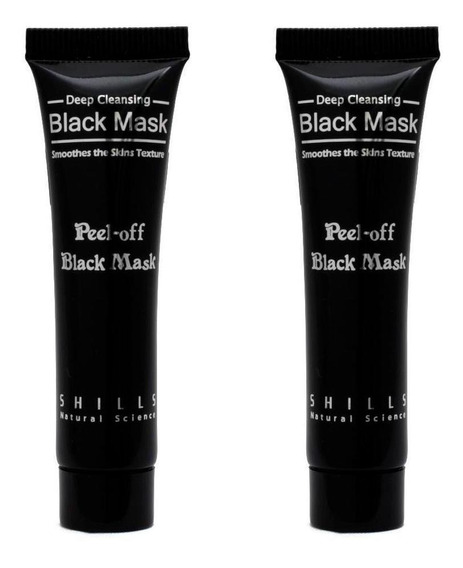 Kit Máscara Anti-cravos Shills Peel-off Black Mask