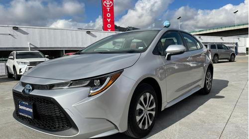 Imagen 1 de 15 de Toyota Corolla 2021 Plata Hybrid Nuevo Demo