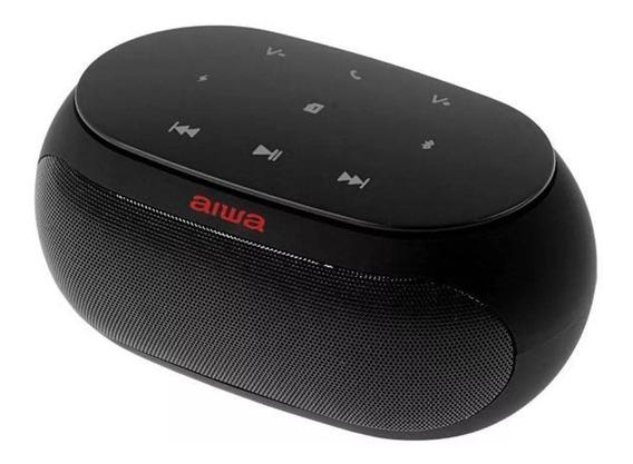 Speaker Aiwa Aw31fm Com Bluetooth/auxiliar/fm Bateria De 2.5