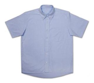 Camisas Oxford Yazbek Trabajo Uniformes M/c 5 Colores Disp.
