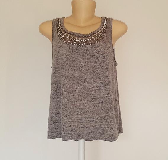 Blusa Feminina Regata Camiseta Hollister Original H&m P M