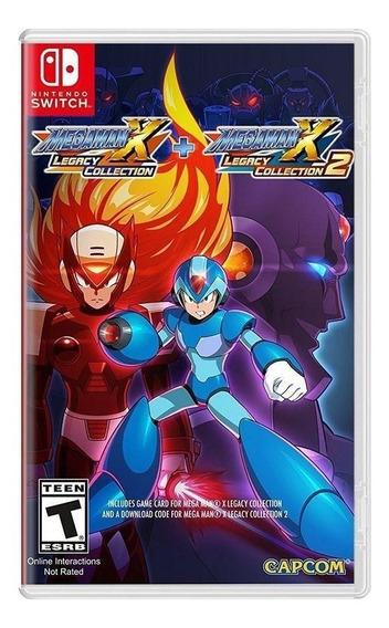 Mega Man X Legacy Collection 1 + 2 - Nintendo Switch - Novo