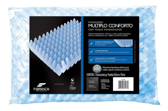 Travesseiro Fibrasca Múltiplo Conforto Massageador 50x70cm