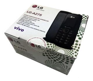 Celular Basic Lg A275 Dual Chip Lanterna Radiofm Anatel Novo