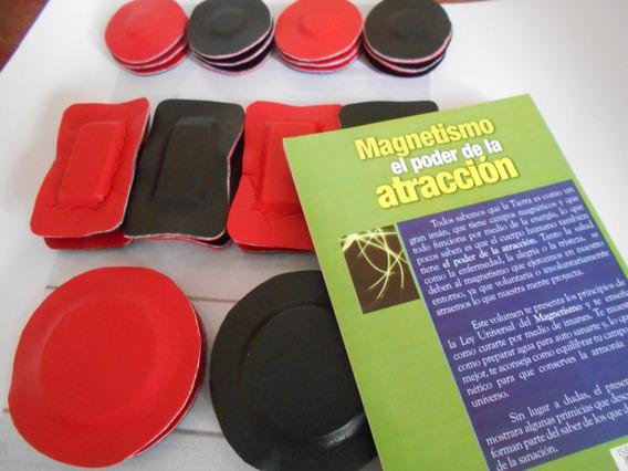 Imanes De Ferrita Magnetoterapia, Biomagnetismo Con Libro