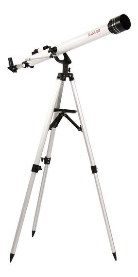Telescópio Profissional Astronômico Refrator 675x Com Tripé