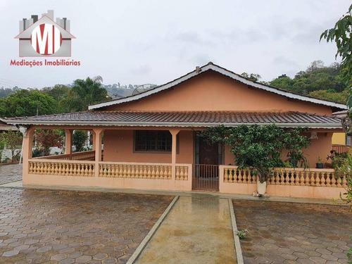 Linda Chácara Com 03 Dormitórios, Pomar, Riacho, À Venda, 1800 M² Por R$ 320.000 - Rural - Socorro/sp - Ch0786