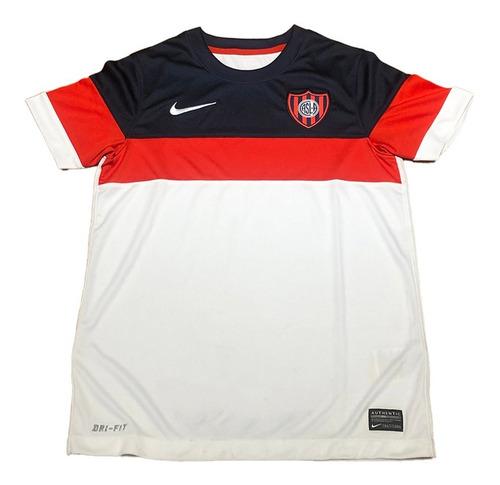 Camiseta De San Lorenzo Nike Blanca De Niño Nueva !