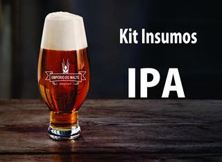 Kit De Insumos Cerveja Artesanal Estilo Ipa 20 Litros