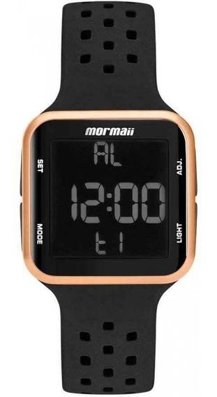 Relógio Digital Feminino Silicone Rose Mormaii Mo6600/8j Top