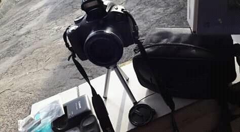 Câmera Digital Profissional.