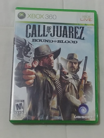 Jogo Call Of Juarez Bound In Blood Xbox 360 E Xbox One