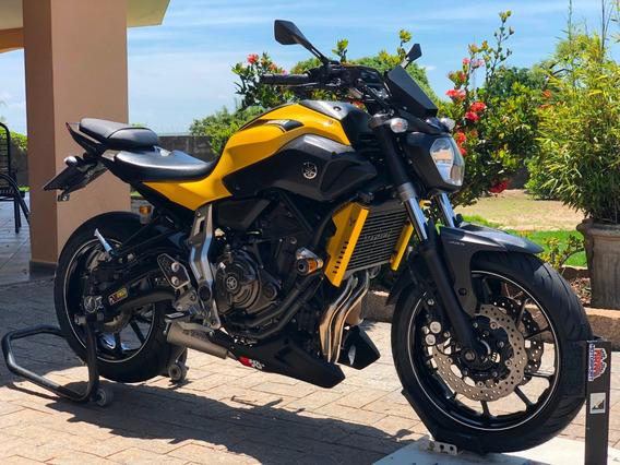Yamaha Mt 07 Abs 2017 Vários Acessórios Novos