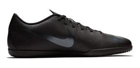 Tenis Nike Futsal Mercurialx Vapor 12 Club Preta Original