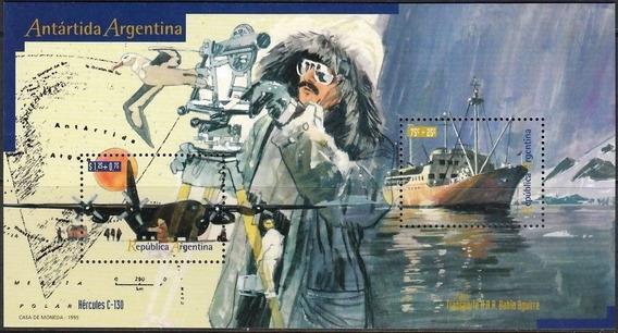 Argentina 1995 Hb109 Gj 2708/09 Barcos Antártida Mint Usd 10