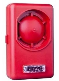 30 - Sirene / Avisador Audiovisual De Incêndio, 120db - Yota
