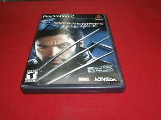 * Longaniza Games * Ps2 X Men Wolverine Revenge