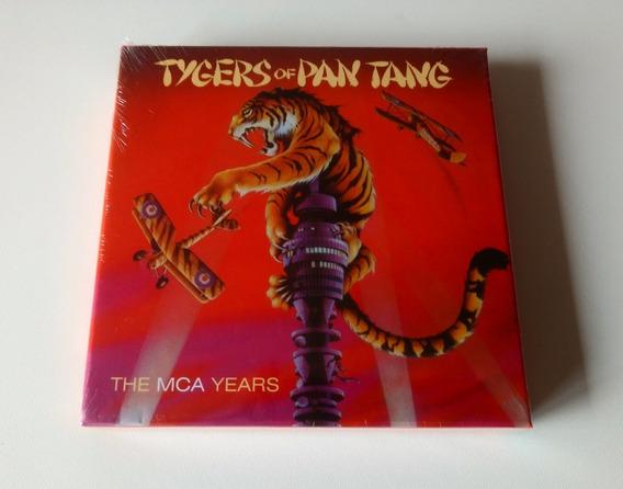 Box Tygers Of Pan Tang Mca Years ( 5 Cd ) Bônus Samson Saxon