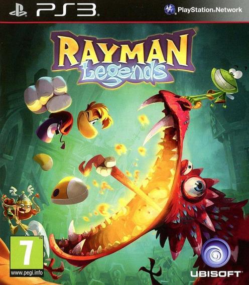Jogo Mídia Física Rayman Legends Playstation 3 Ps3