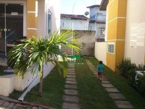 Casa Com 3 Dormitórios À Venda, 152 M² Por R$ 360.000,00 - Vida Nova - Lauro De Freitas/ba - Ca0979