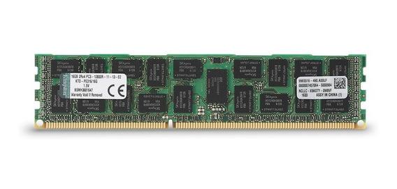 Memoria Servidor 16gb Ddr3 1600 Ecc Rdimm Ktd-pe316/16g Dell