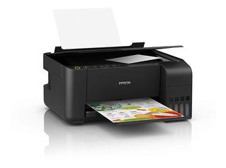 Impresora Multifuncion Epson L3150 Sistema Continuo Wifi Cta