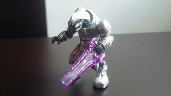 Halo Mega Bloks Construx Inquisidor Arbiter Phantom Plateado