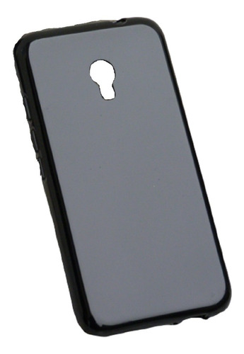 Capa Alcatel Pixi 4 5.0 5045 ( Preto Liso ) + P Vidro