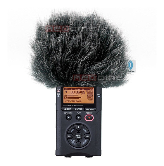 Protetor De Vento Gravador Voz Digital Tascam Zoom Sony