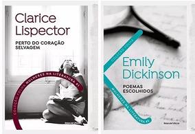 Colecao Folha Mulheres Na Literatura 1 E 2 Clarice Lispector