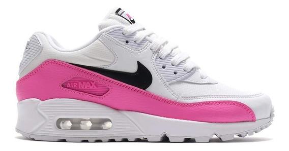 Tenis Nike Air Max 90 Se Mujer Casual Retro Moda Bv09910-100