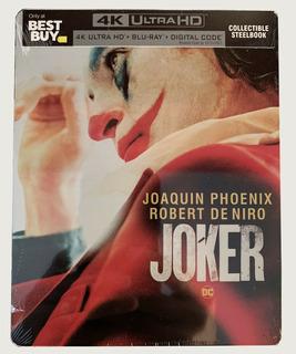 Joker Steelbook 4k *importado*