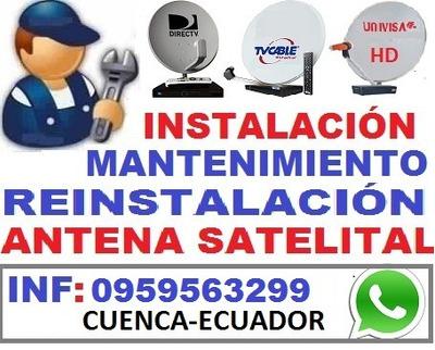 Técnico Directv Satelital, Instalador Profesional