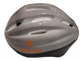 Capacete Helmet Cor Cinza Vollo Vcc410