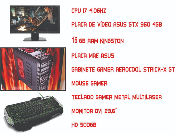 Computador Gamer-jogos Pesados