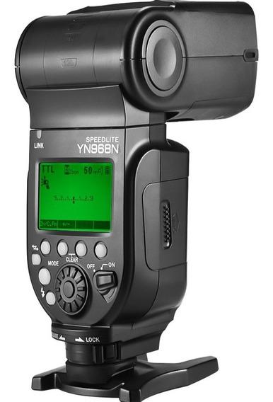Flash Yongnuo Yn 968ex Rt Com Led Nikon Ou Canon Yn968