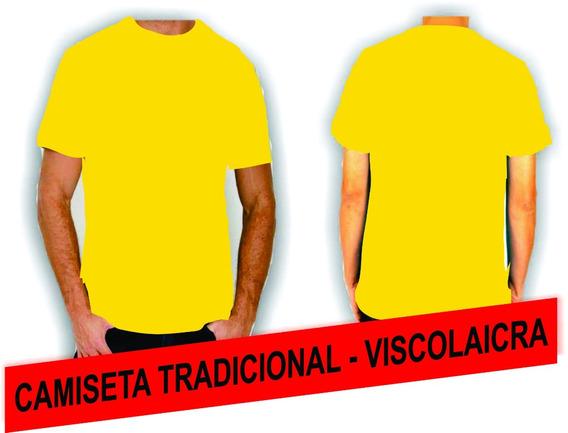 Camiseta Tradicional - Viscolaycra