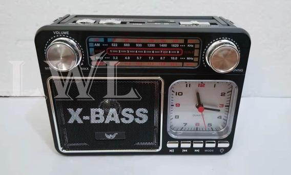 Caixa De Som Altomex A-135 Radio Usb Am Fm 4bandas