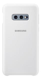 Funda Samsung Silicone Cover - Protective - S10e - White